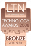 Bronze Award, Legal Technology News, NY