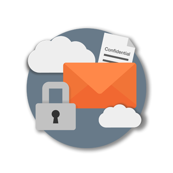 secure messaging icon
